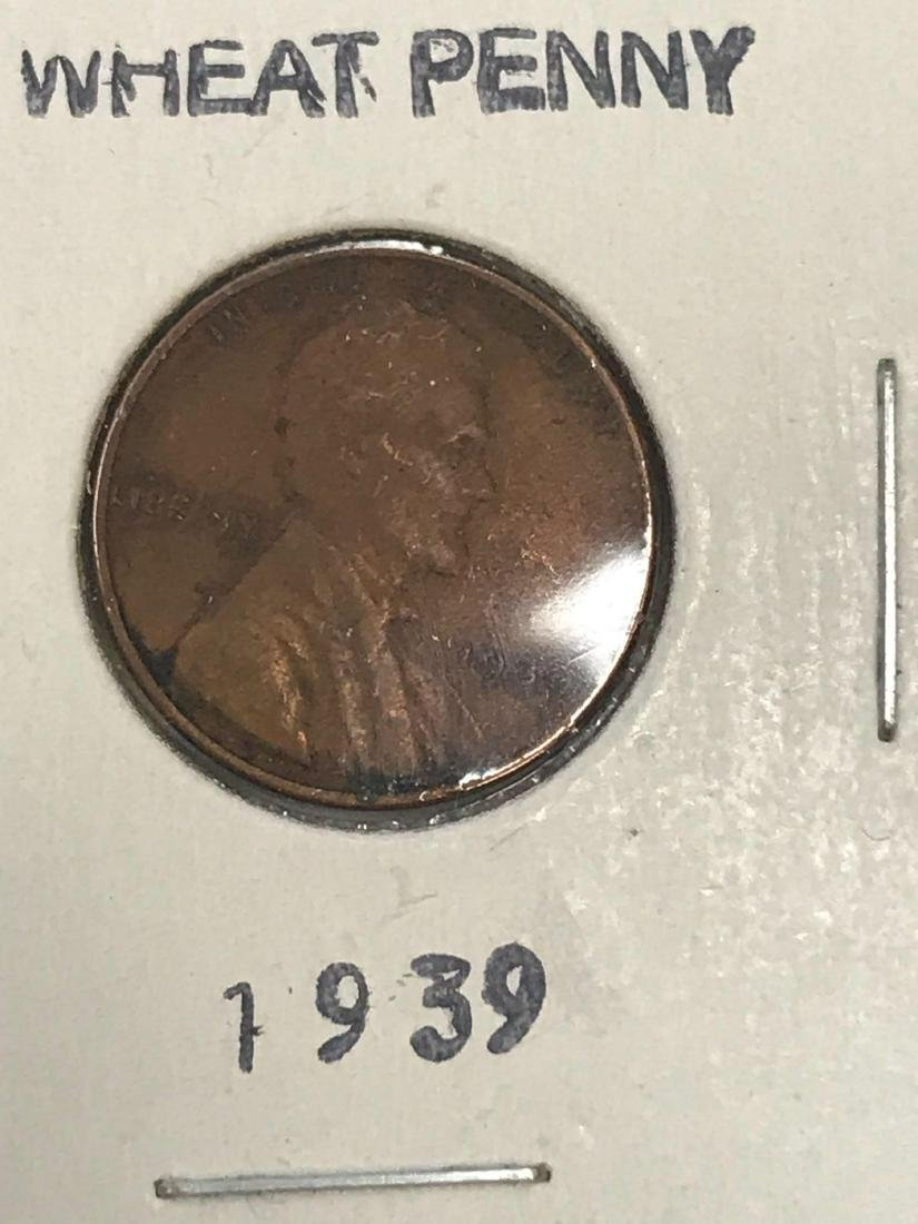6 Small Cent Lincoln Wheat Penny - 6