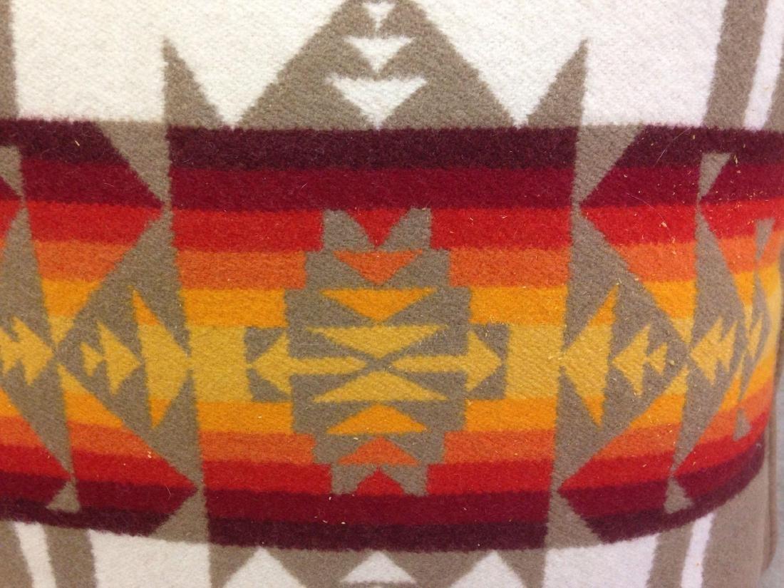 Beaver State Pendleton Wool Navajo Throw Pillow in - 2