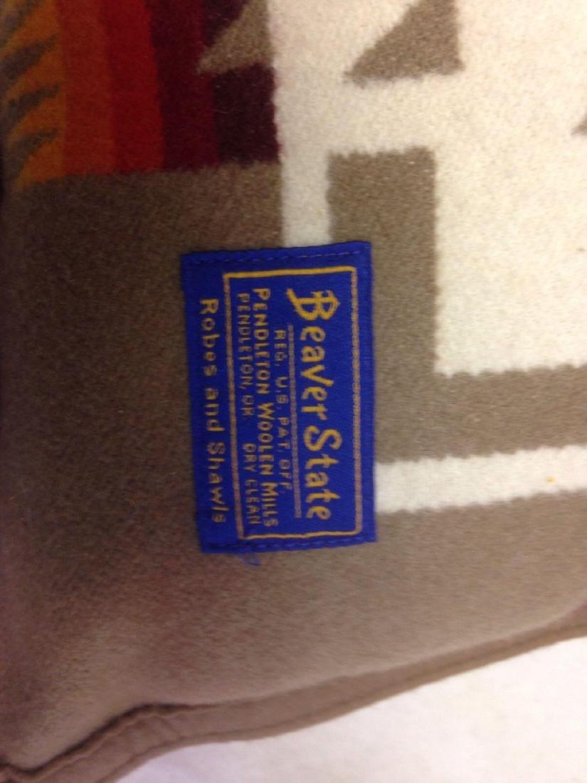 Beaver State Pendleton Wool Navajo Throw Pillow in - 3