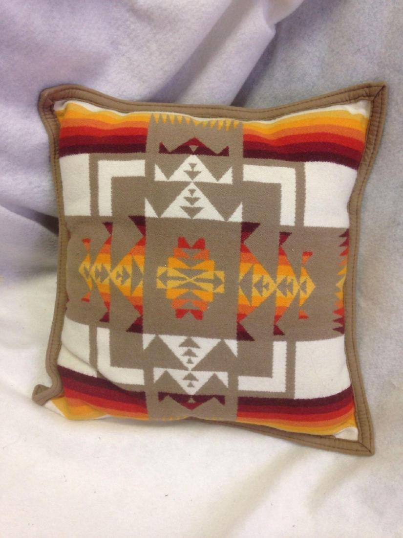 Beaver State Pendleton Wool Navajo Throw Pillow in - 4