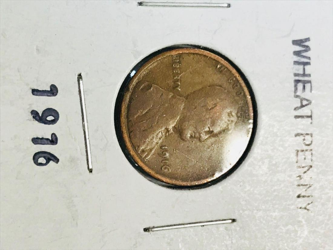 6 Small Cent Lincoln Wheat Penny - 2
