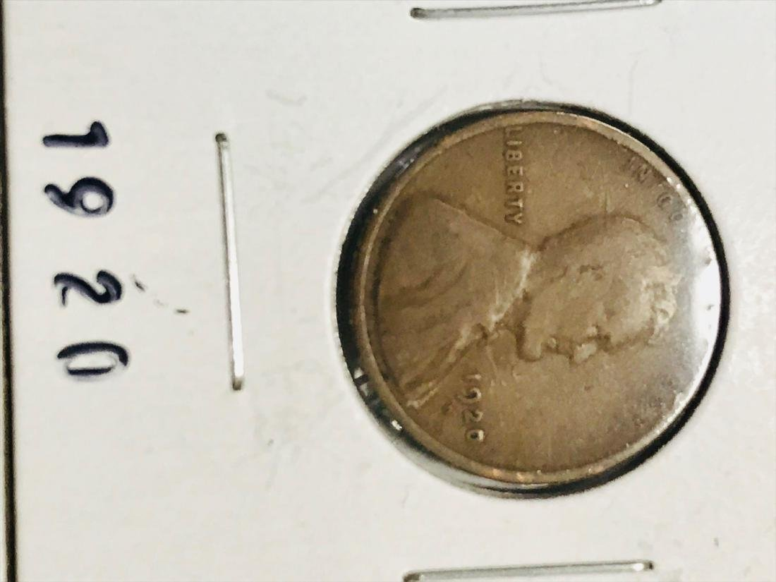 6 Small Cent Lincoln Wheat Penny - 4