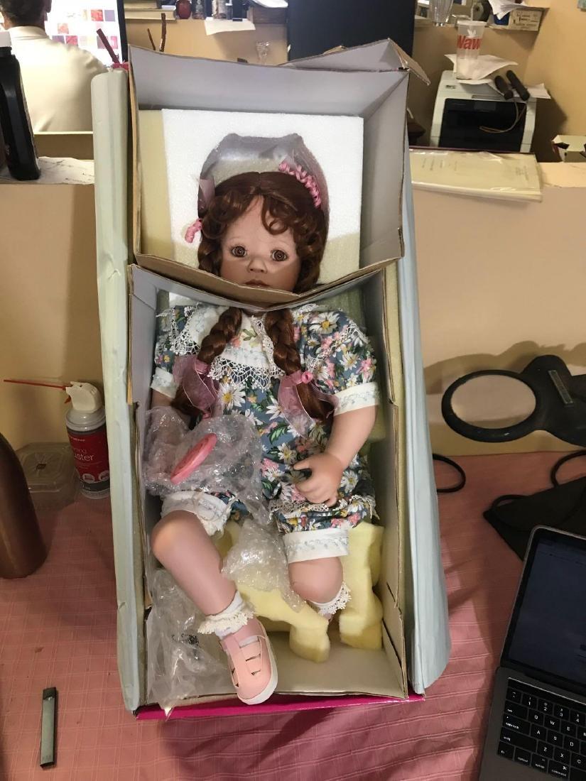 "2002 Marie Osmond ""Lolli"" Porcelain Doll - 3"