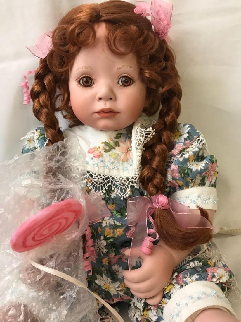 "2002 Marie Osmond ""Lolli"" Porcelain Doll - 4"