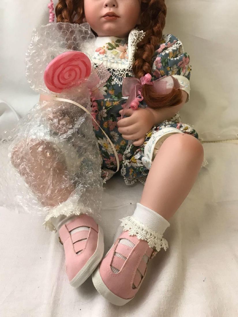 "2002 Marie Osmond ""Lolli"" Porcelain Doll - 5"