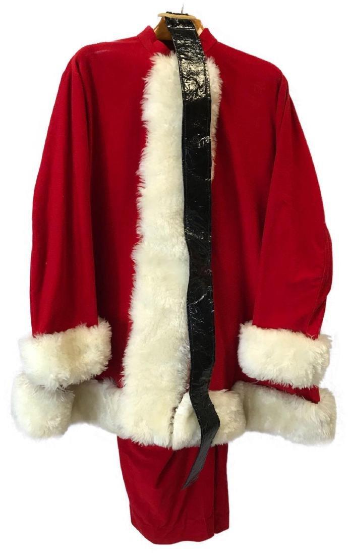 Vintage Santa Claus Suit