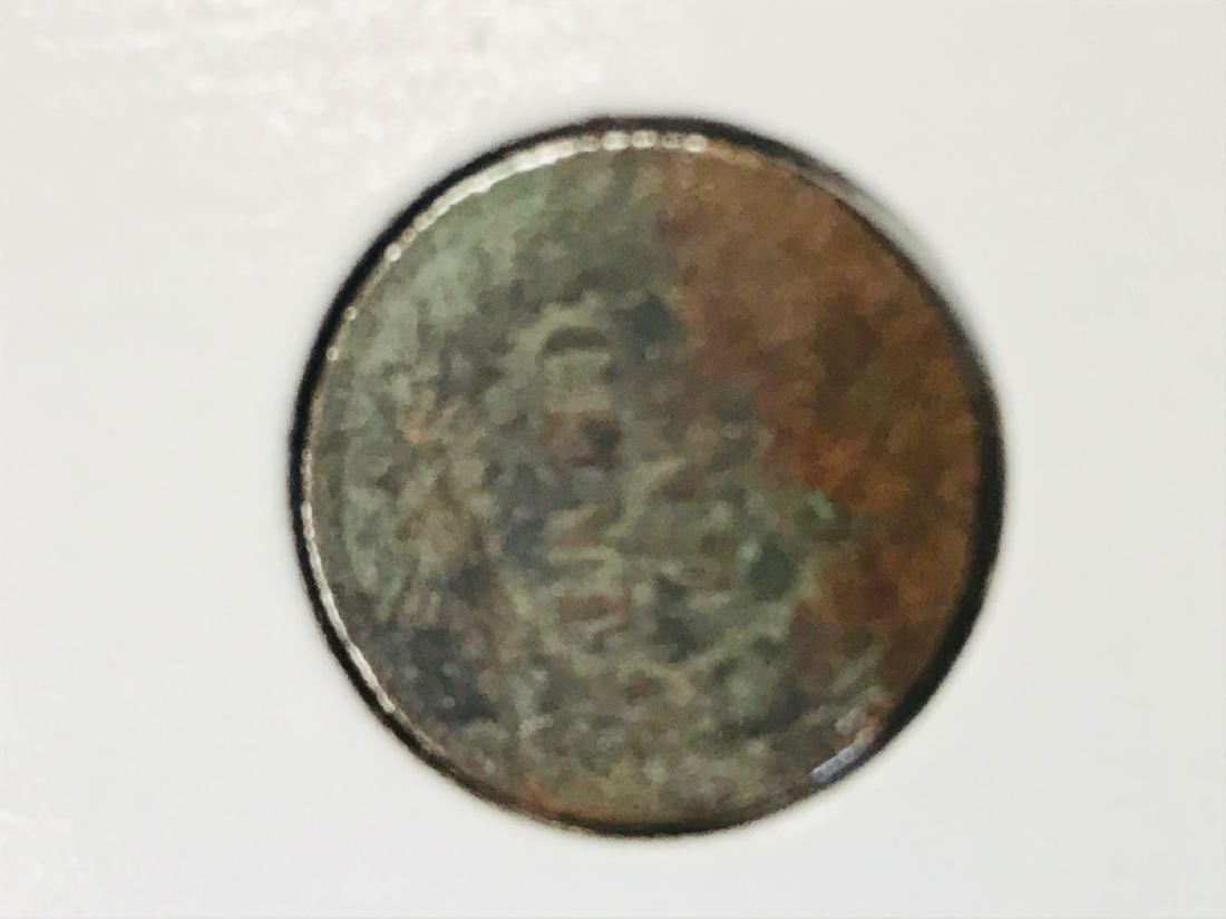 6 Antique Indian Head Penny One Cent Coin - 8
