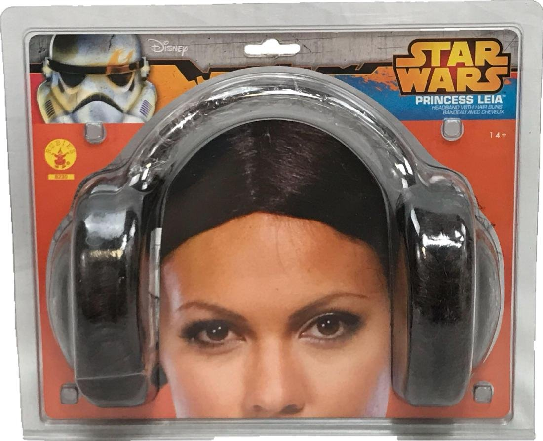 NOS - Star Wars Dsney - Princess Leia Hair Buns -