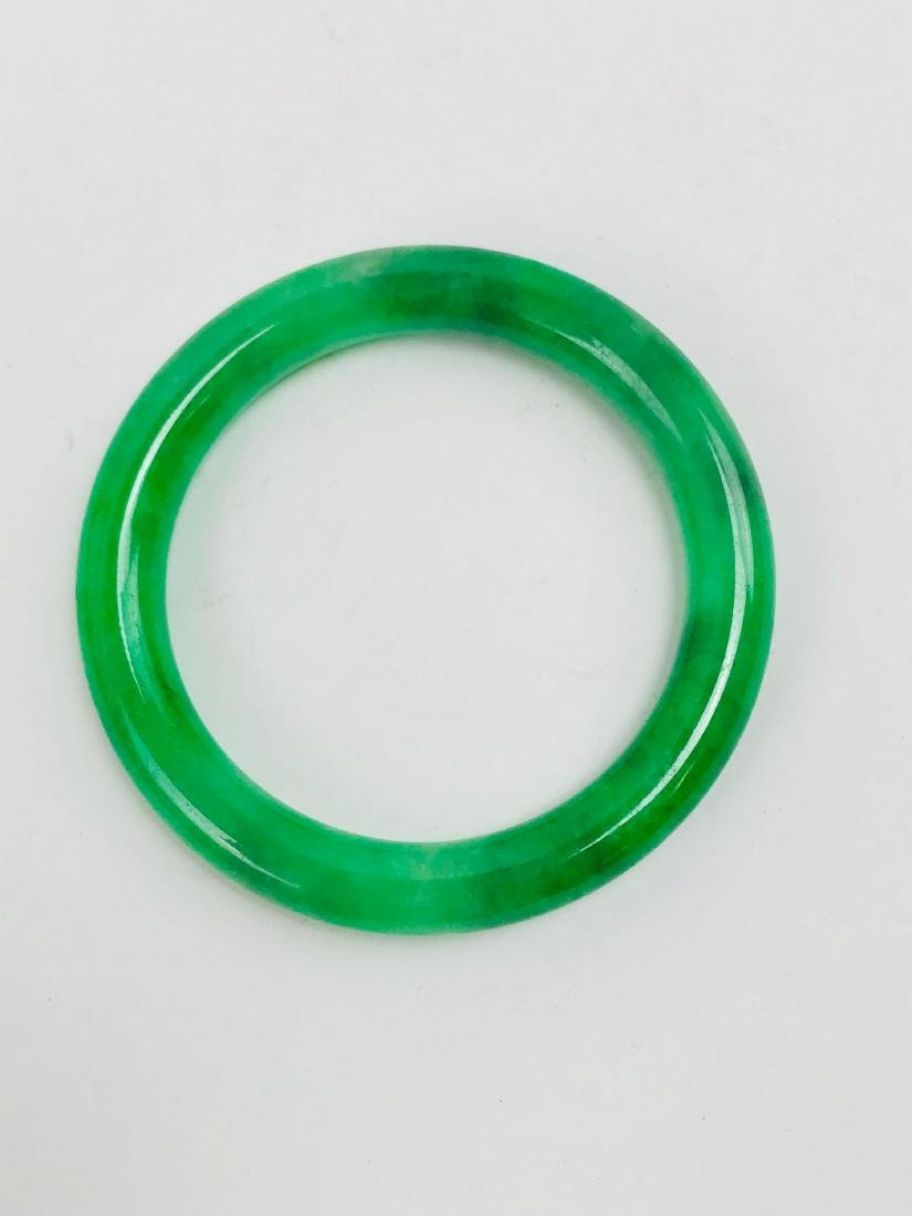 fcf03c46ae257 Pure Jade Bangle Bracelet