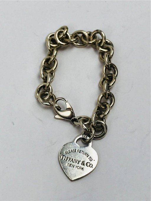 004e578f30d1d Tiffany & Co. Sterling Silver Charm Bracelet Return To - Oct 18 ...