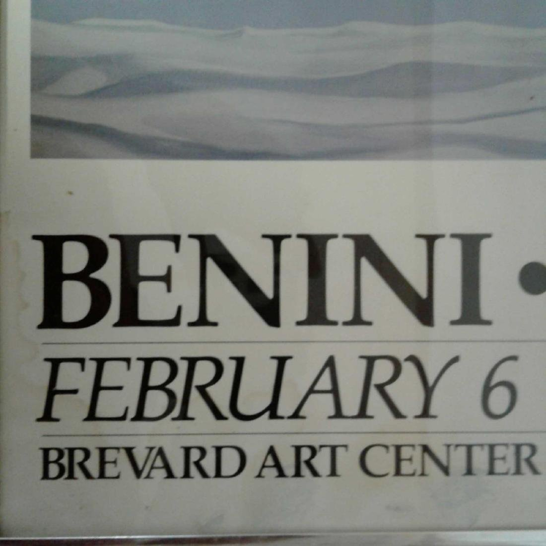 """Framed and Signed """"Benini Paintings"""" Poster - 4"""