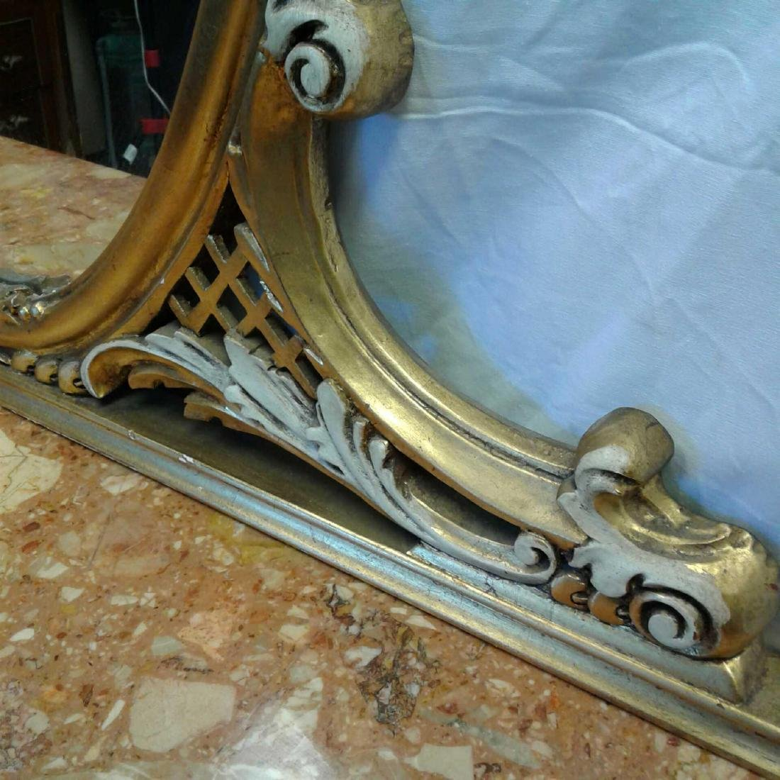 Late Baroque/Rococo Style Console Table with Mirror - 9