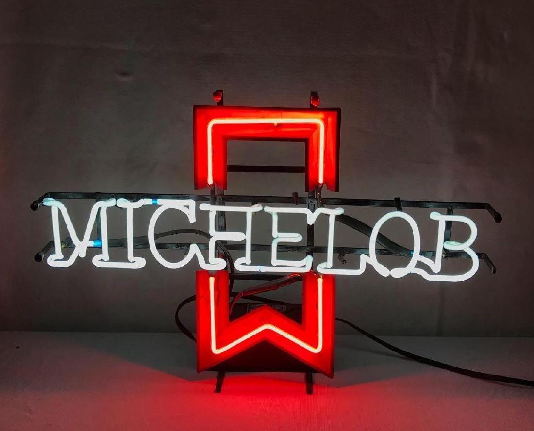 Vintage 1985 Michelob Beer Neon Sign