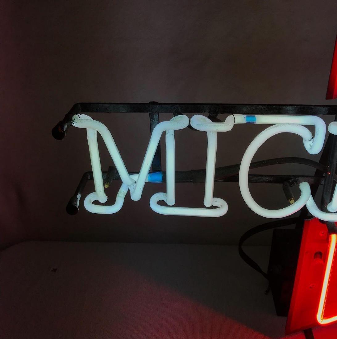 Vintage 1985 Michelob Beer Neon Sign - 2