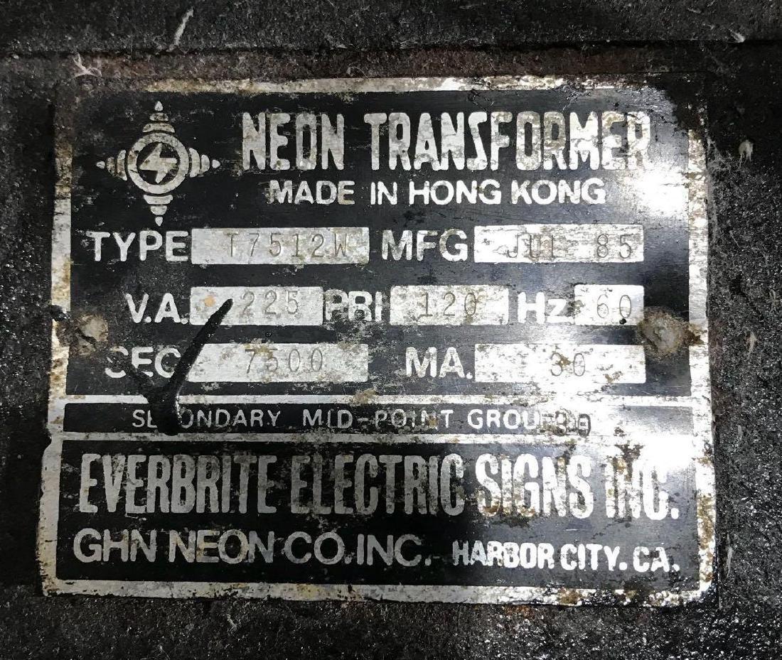 Vintage 1985 Michelob Beer Neon Sign - 4