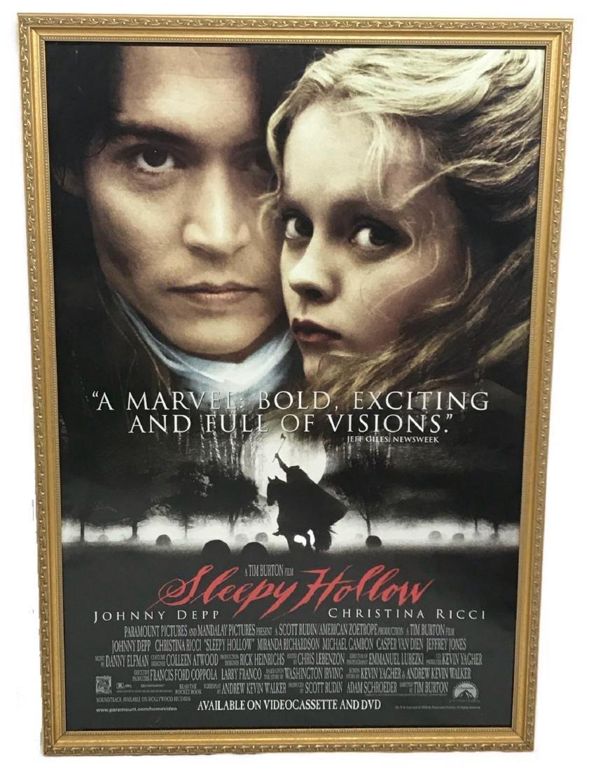 Original Movie Poster, Sleepy Hollow, Framed
