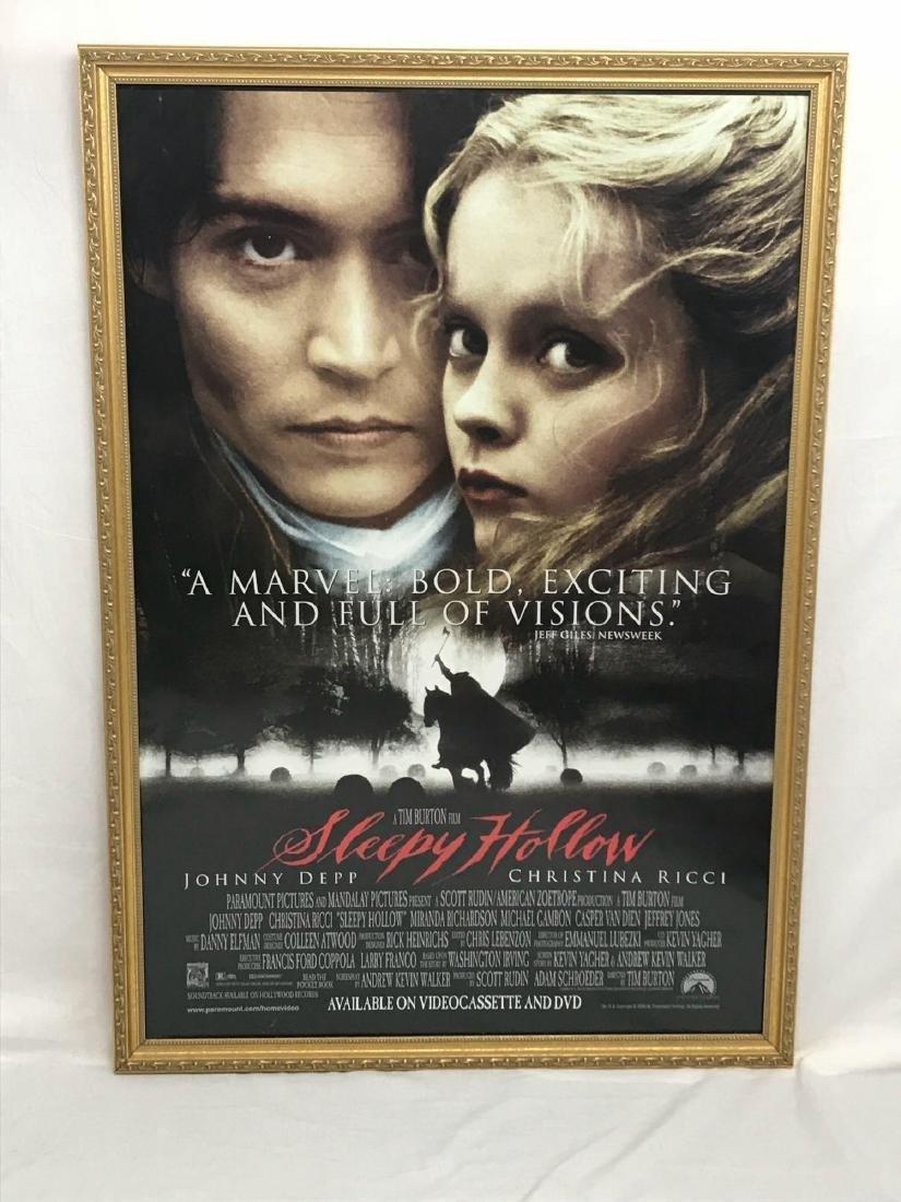 Original Movie Poster, Sleepy Hollow, Framed - 2