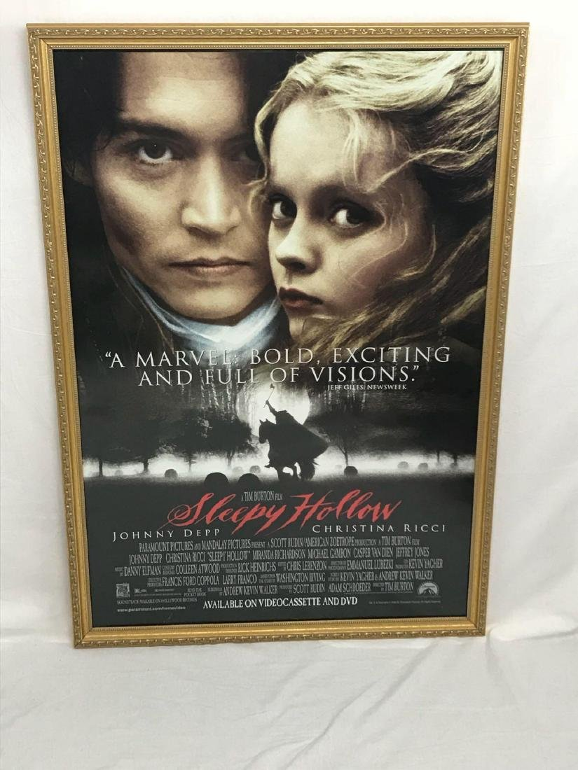 Original Movie Poster, Sleepy Hollow, Framed - 3