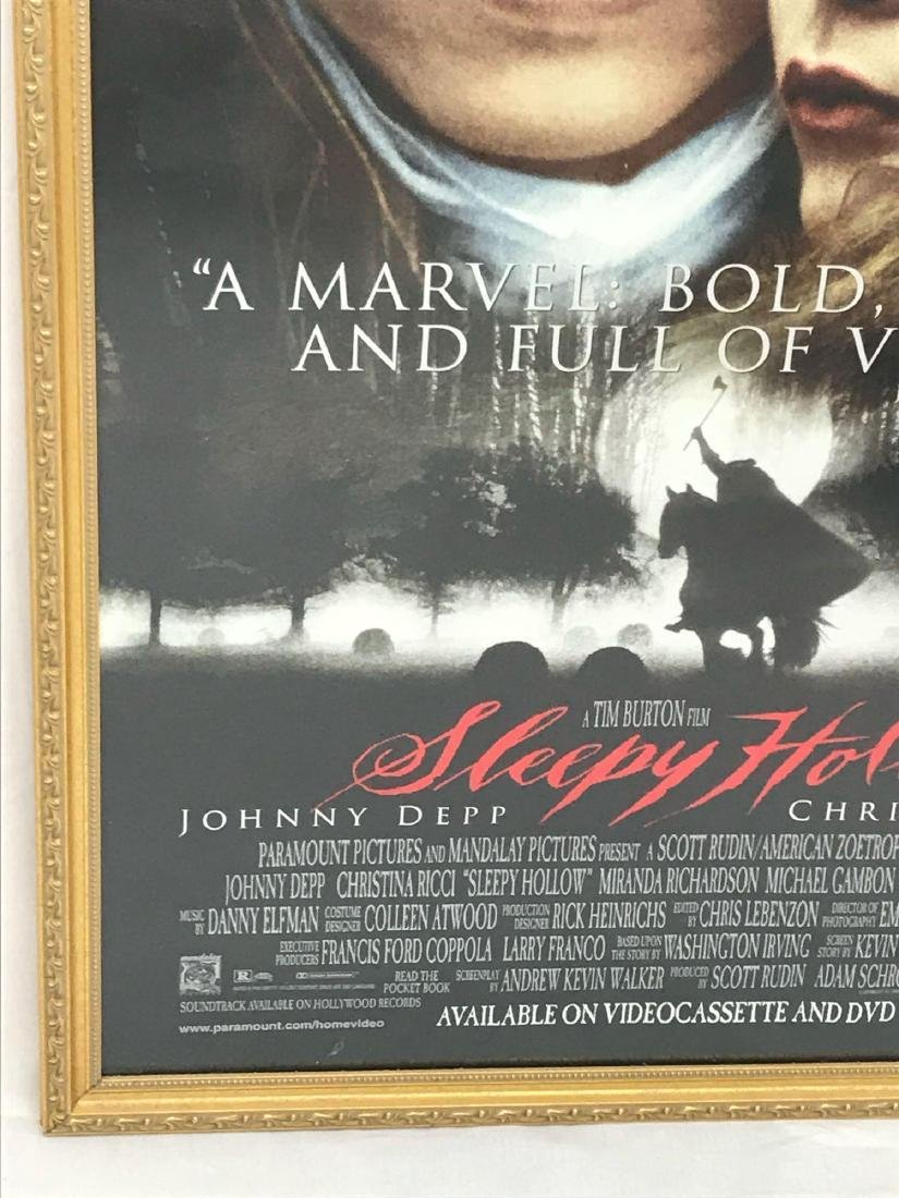 Original Movie Poster, Sleepy Hollow, Framed - 5