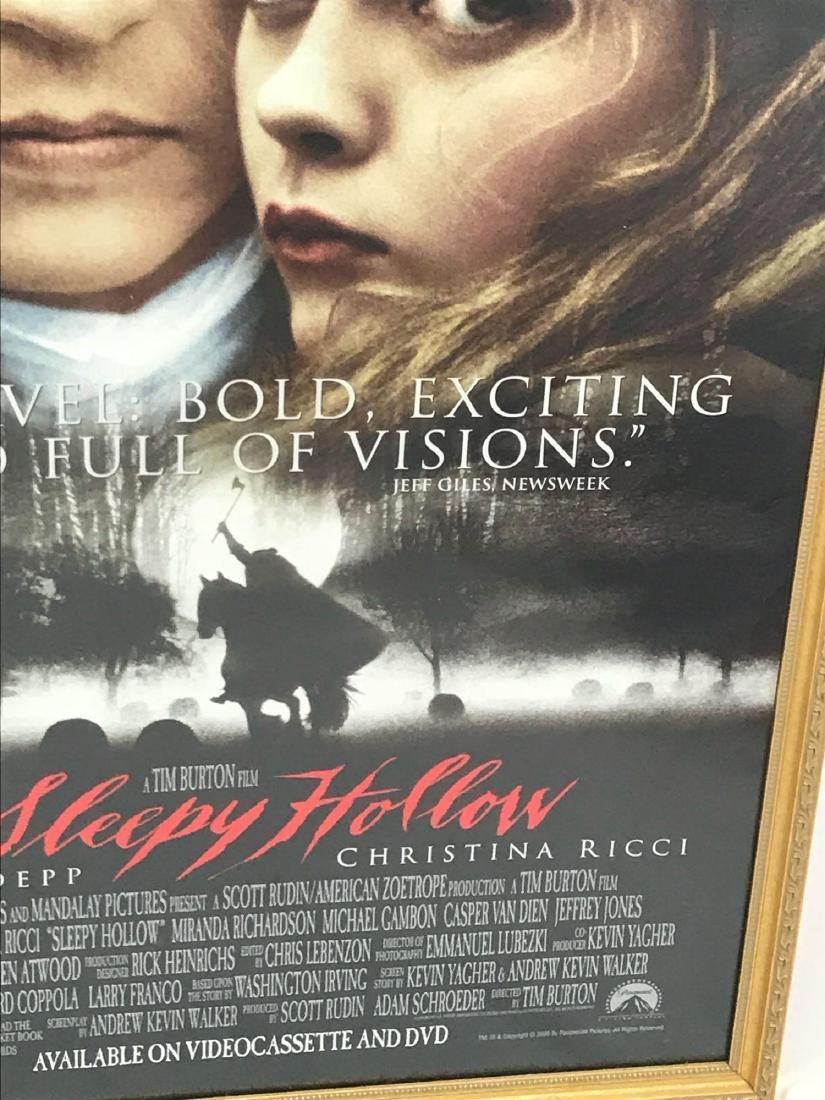 Original Movie Poster, Sleepy Hollow, Framed - 6