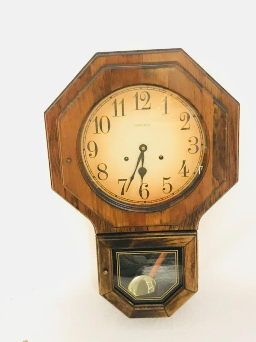 Vintage Harris and Mallow 31 Day Keywind Clock in