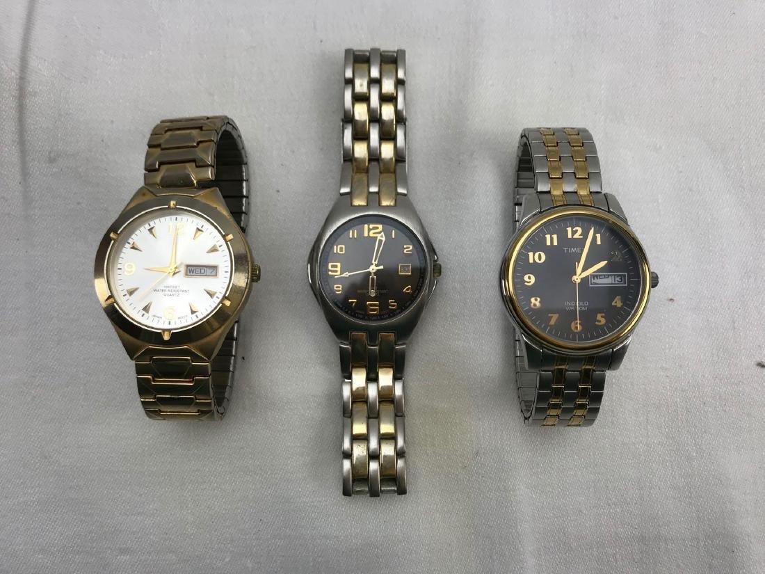 Lot of 3 Men's Watches
