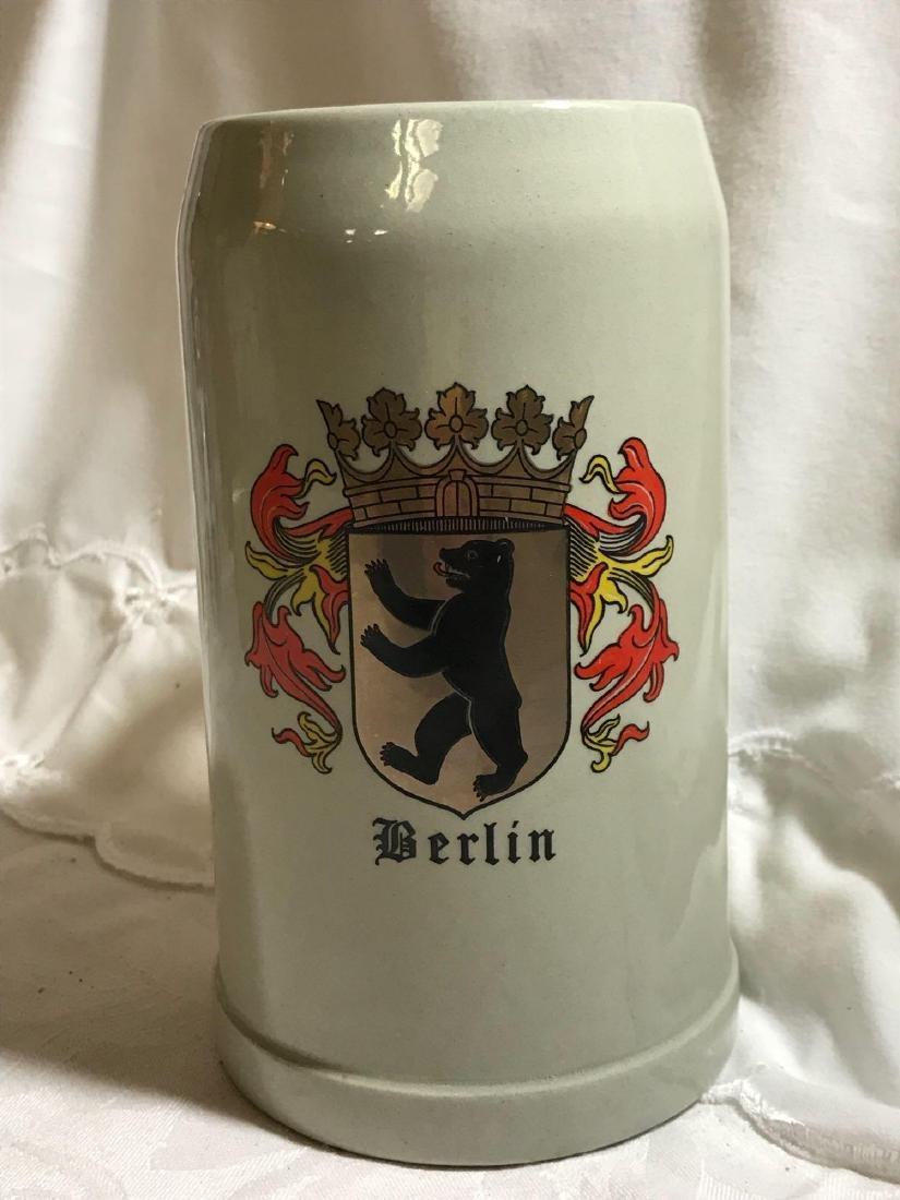 Berlin Coat Of Arms Stoneware Beer Stein