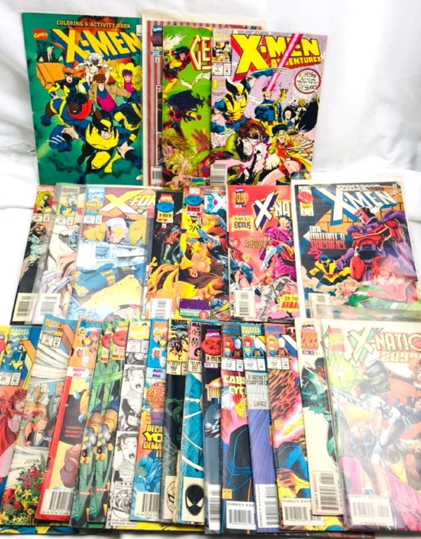 28 Issue X-Men Marvel Comic Lot