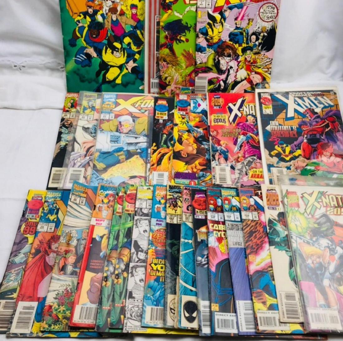 28 Issue X-Men Marvel Comic Lot - 2