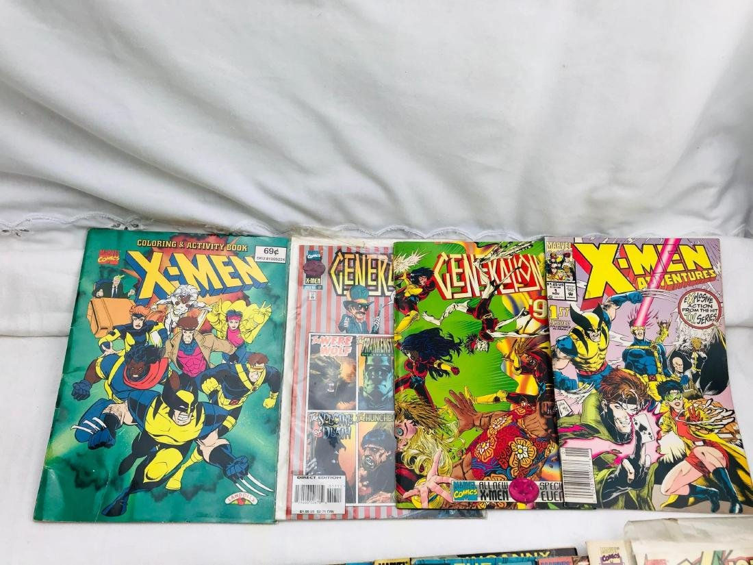 28 Issue X-Men Marvel Comic Lot - 4