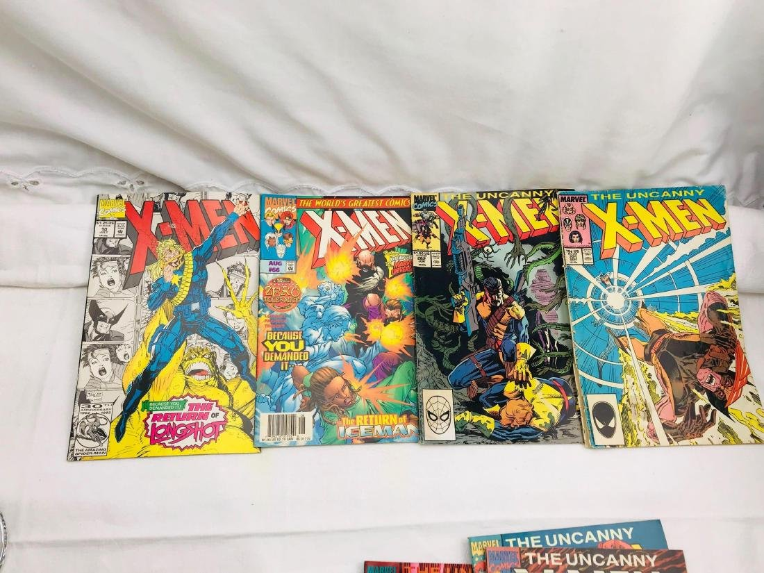 28 Issue X-Men Marvel Comic Lot - 8