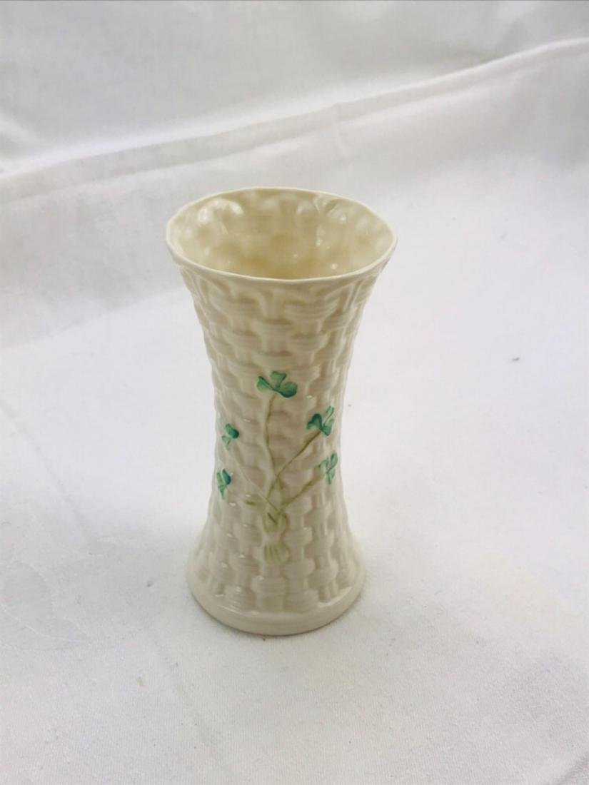 Vintage Belleek Colleen Vase - 2