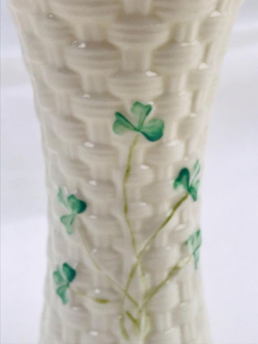 Vintage Belleek Colleen Vase - 4