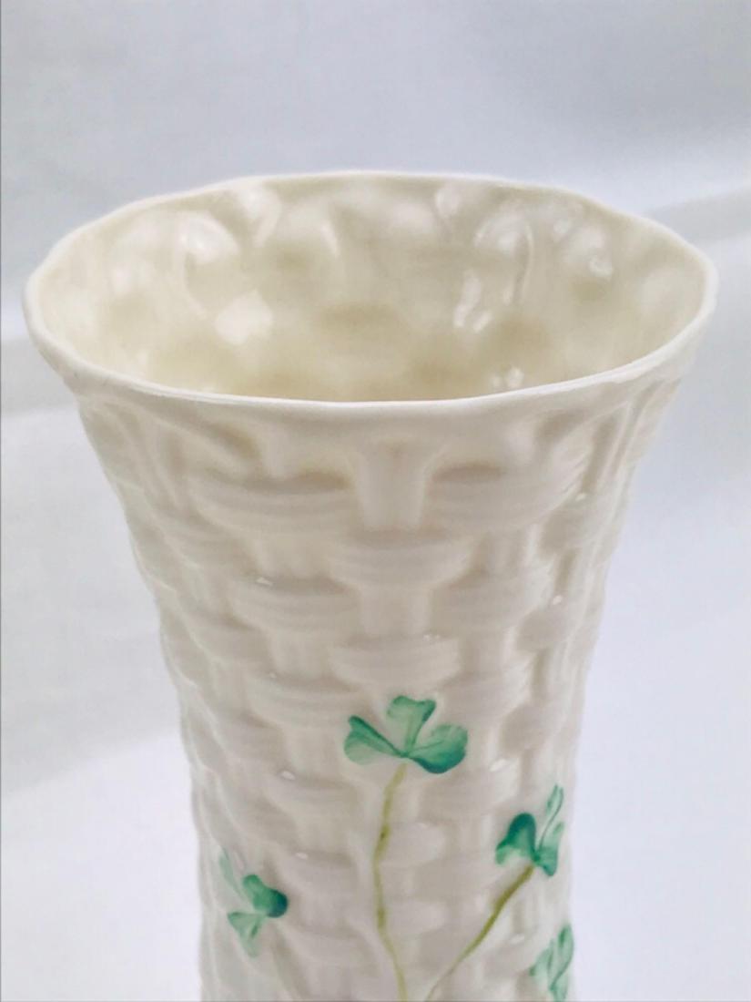 Vintage Belleek Colleen Vase - 5