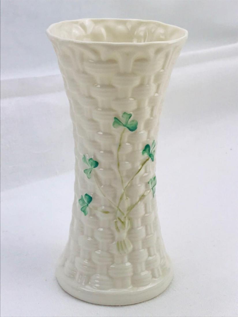 Vintage Belleek Colleen Vase - 6