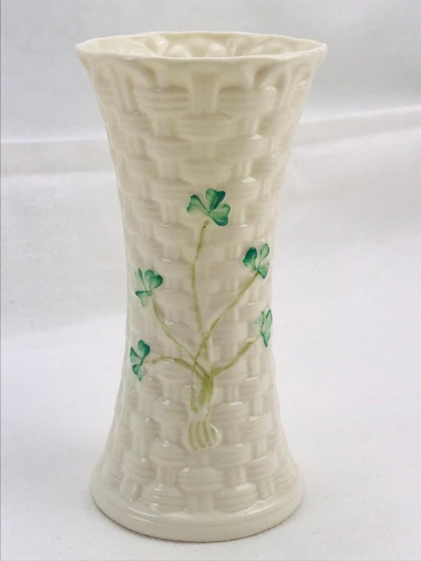 Vintage Belleek Colleen Vase - 7