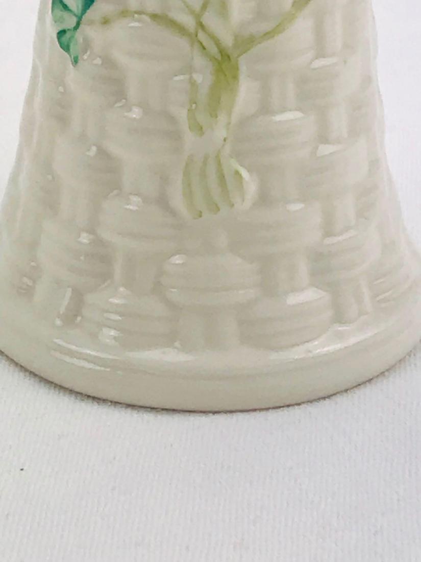 Vintage Belleek Colleen Vase - 9