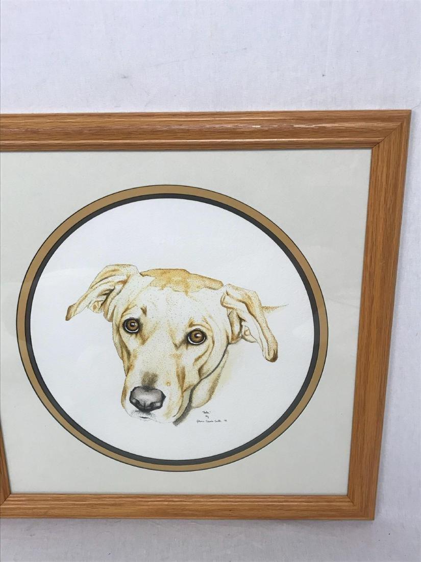 Original Pen and Ink Artwork, Animal Portraiture, Signe - 6