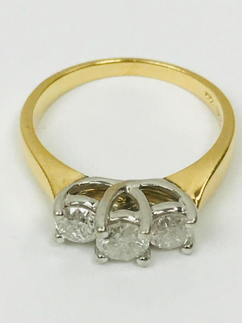 14K Gold and Diamond Ring Estate Jewelry