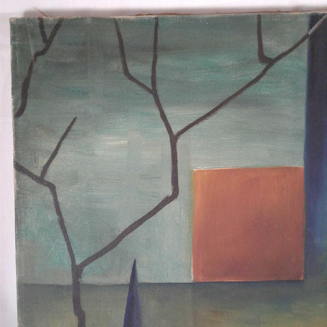 "Signed ""M. Haberhern"" Oil Painting - 2"