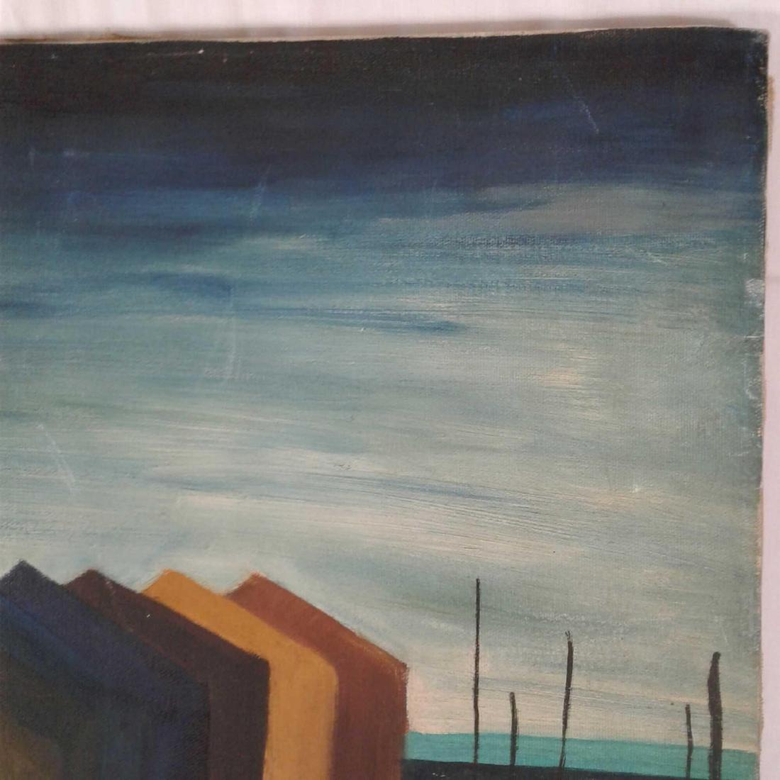 "Signed ""M. Haberhern"" Oil Painting - 3"