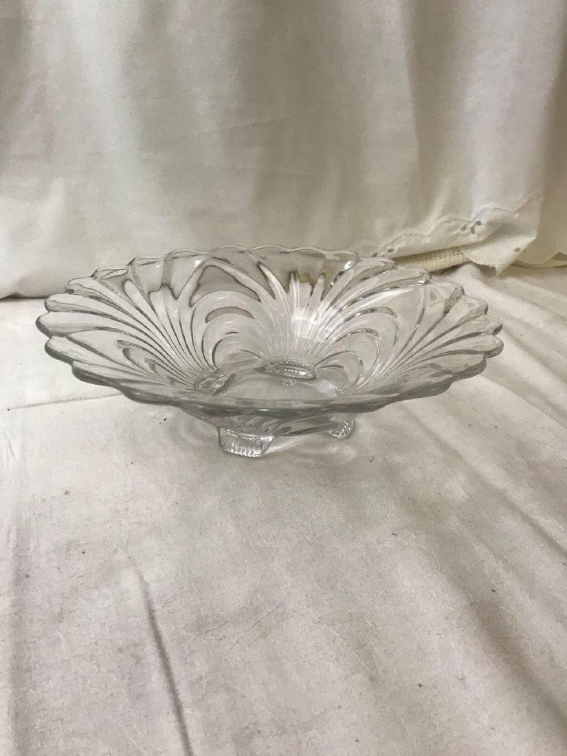 Vintage Hollywood Regency Glass Bowl - 3