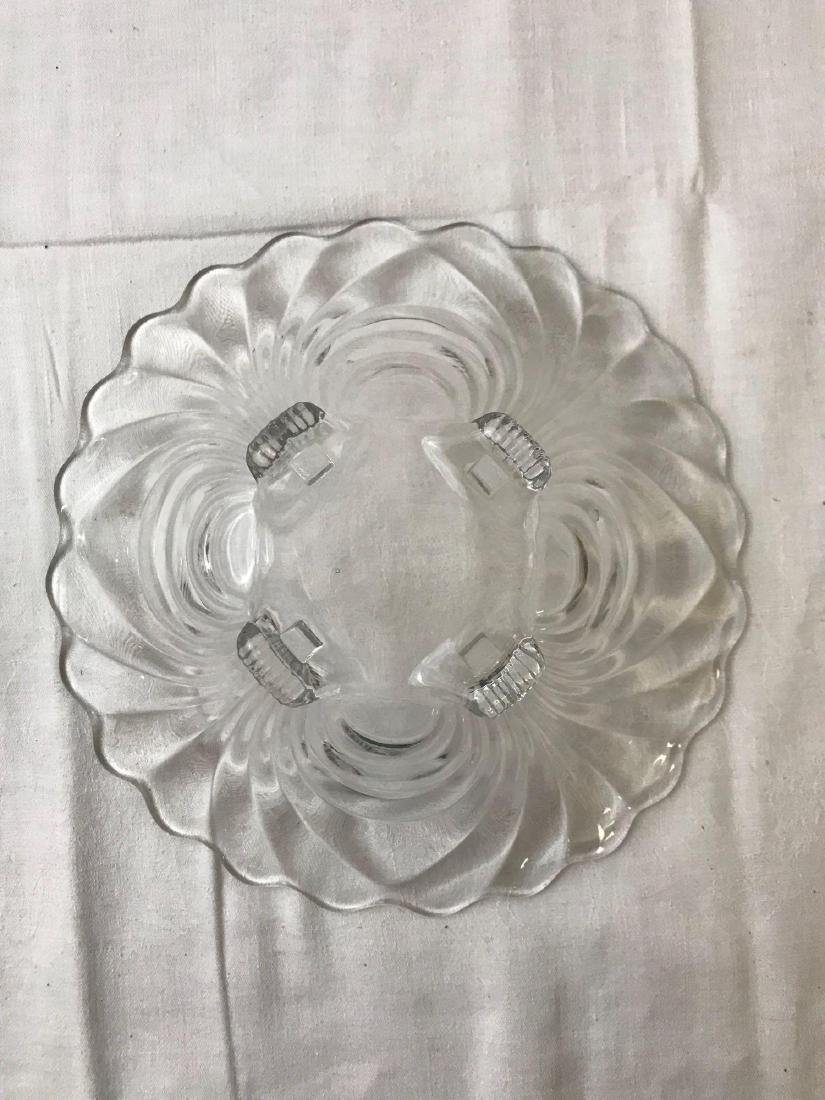 Vintage Hollywood Regency Glass Bowl - 5