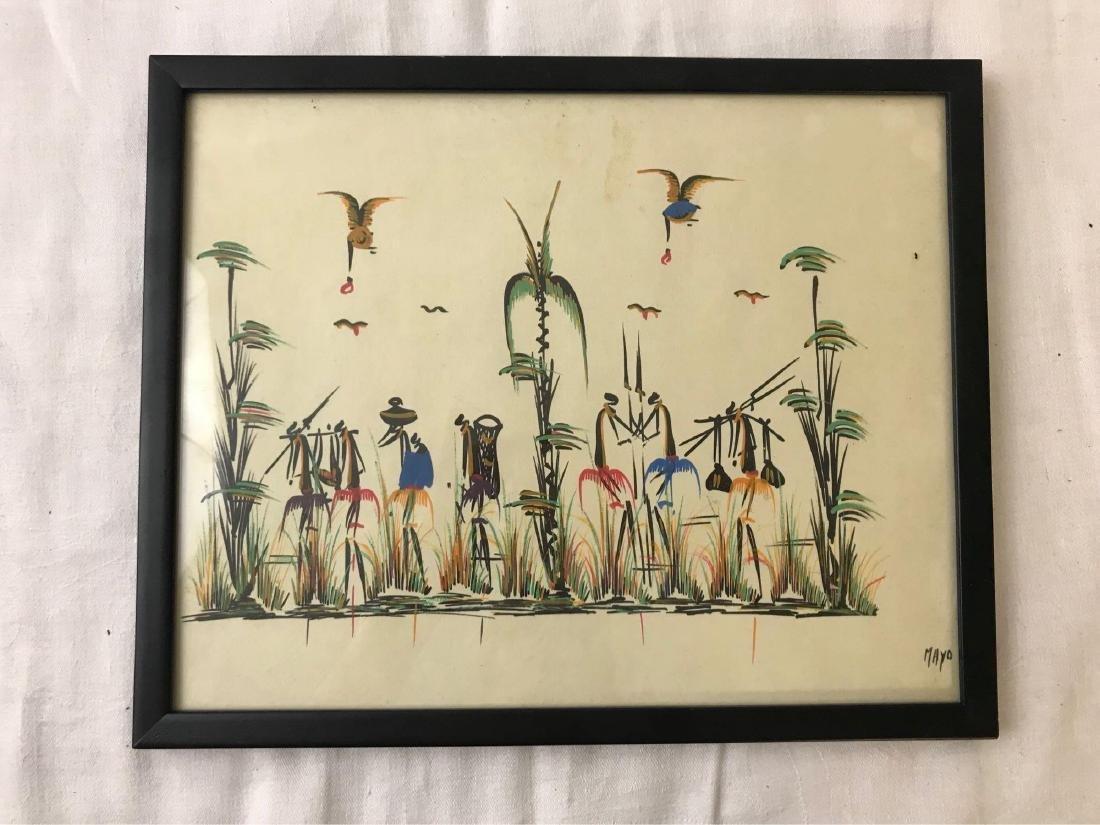 Mid Century Tribal African Art Series - 4
