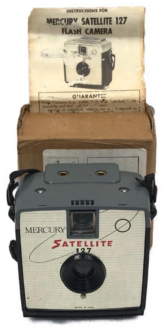 Vintage Mercury Satellite Camera, circa 1960's