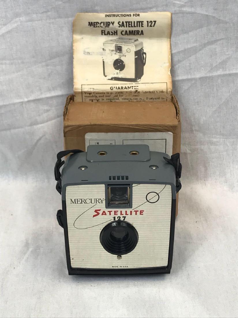 Vintage Mercury Satellite Camera, circa 1960's - 2