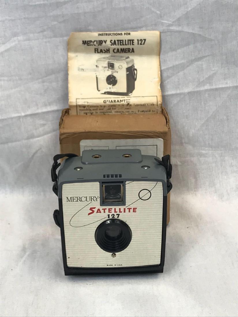 Vintage Mercury Satellite Camera, circa 1960's - 3