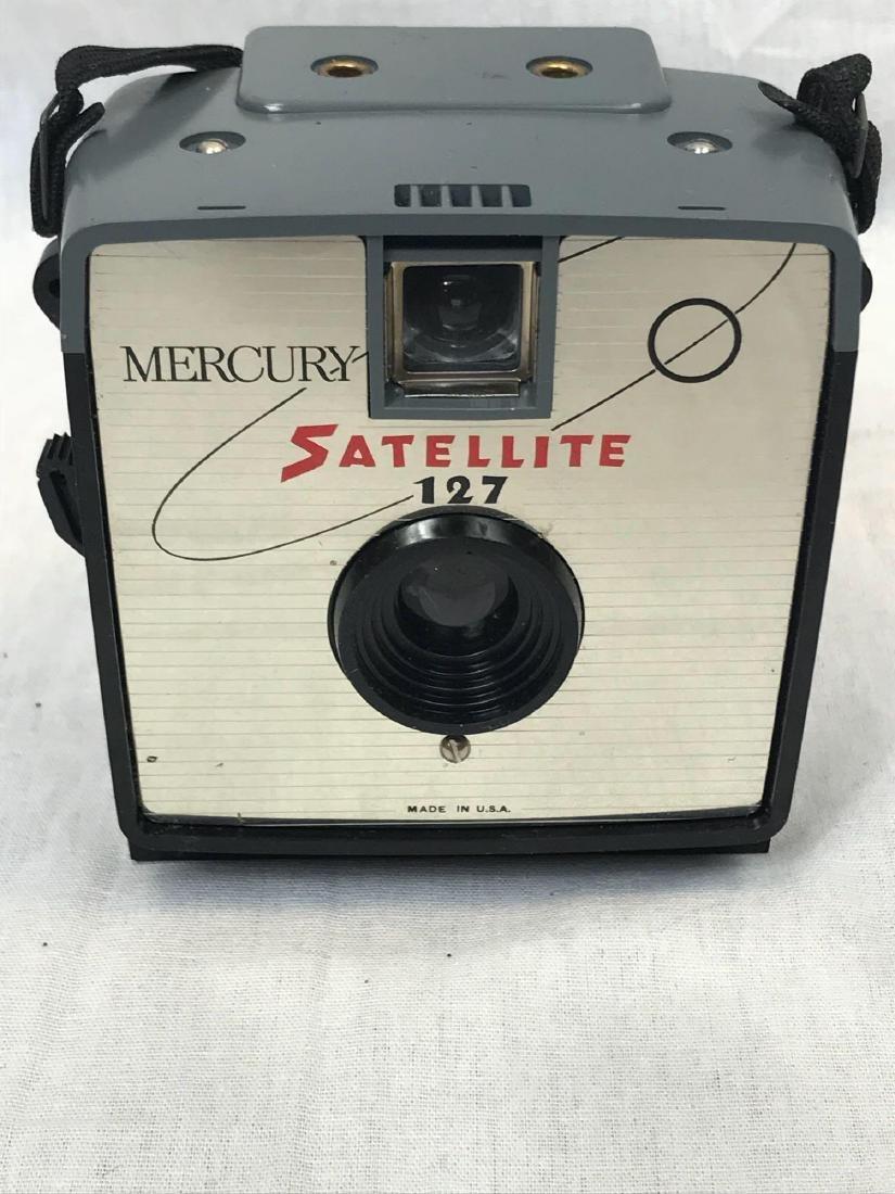 Vintage Mercury Satellite Camera, circa 1960's - 7