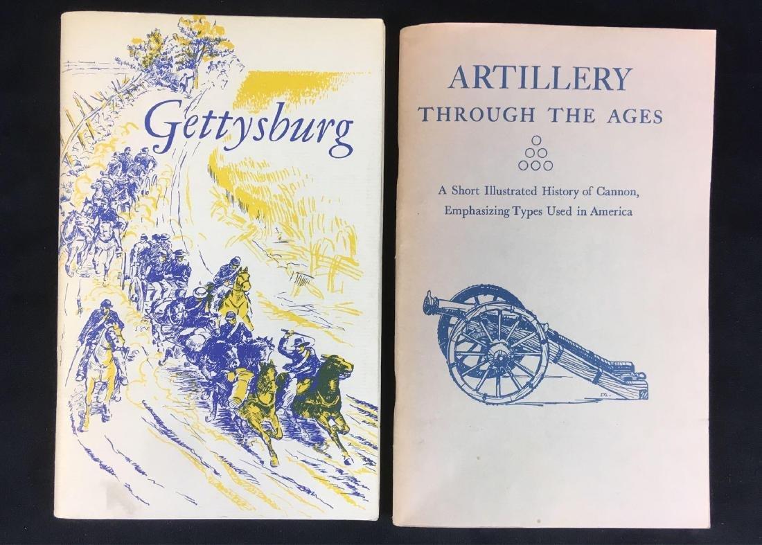 Vintage National Park Service Booklets Gettysburg and