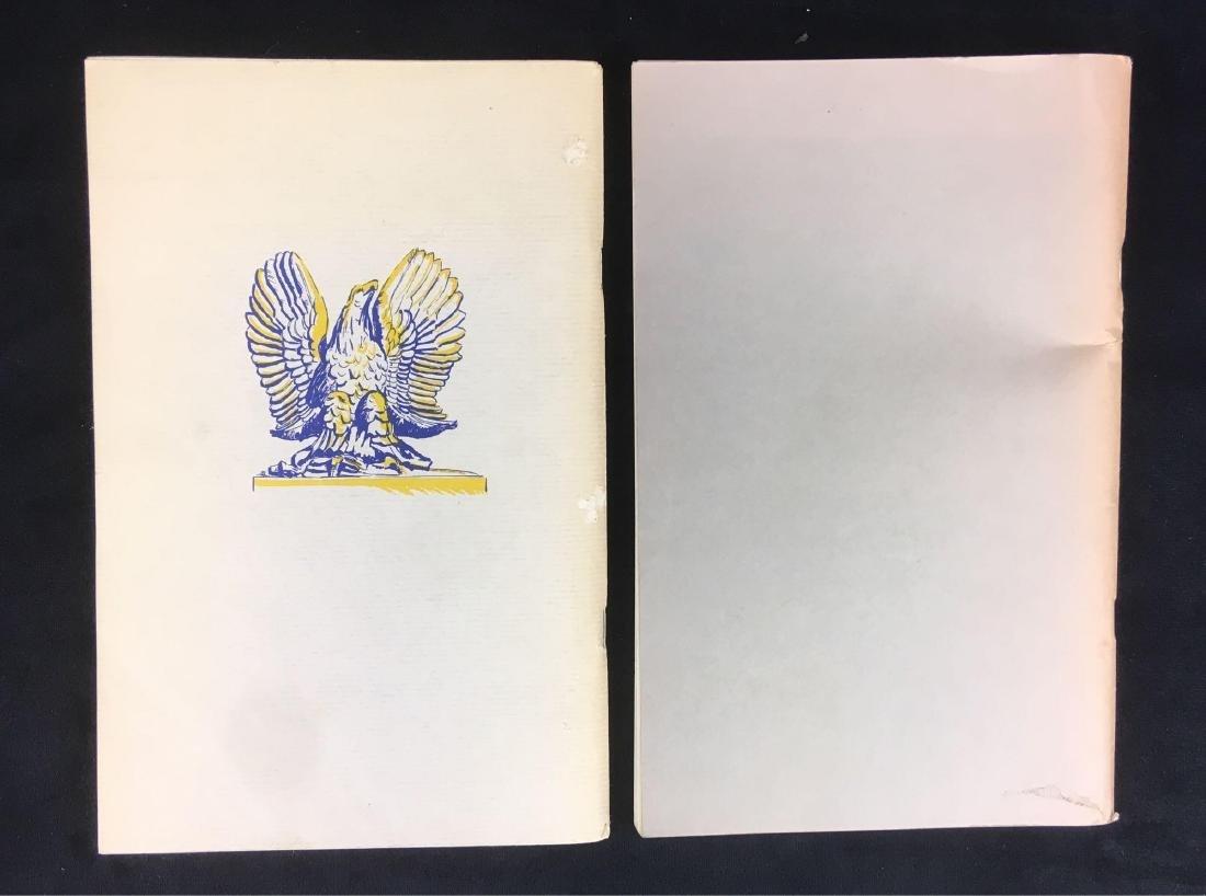 Vintage National Park Service Booklets Gettysburg and - 2